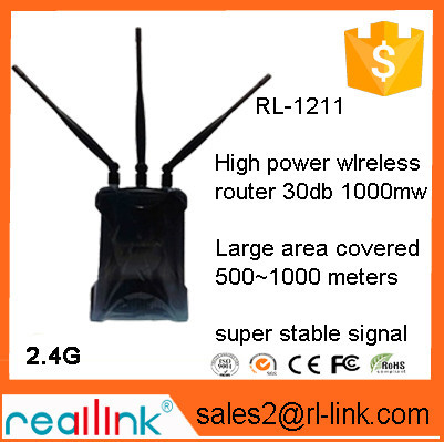 Reallink Wireless Router 300mbps Internal Antenna 802.11n AP Wifi Router