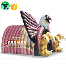 Basketball Sports Animal Inflatable Event Eagle Birds Tunnel For Advertising Sale A386