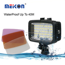 underwater 40 meters scuba diving video LED light for Canon,Nikon,Sony,Fujifilm,Olympus,Panasonic Camera