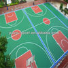 Silicon PU material basketball courts rubber flooring