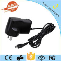 12v 0.5a ac dc switching mode power supply with AU plug,USB port