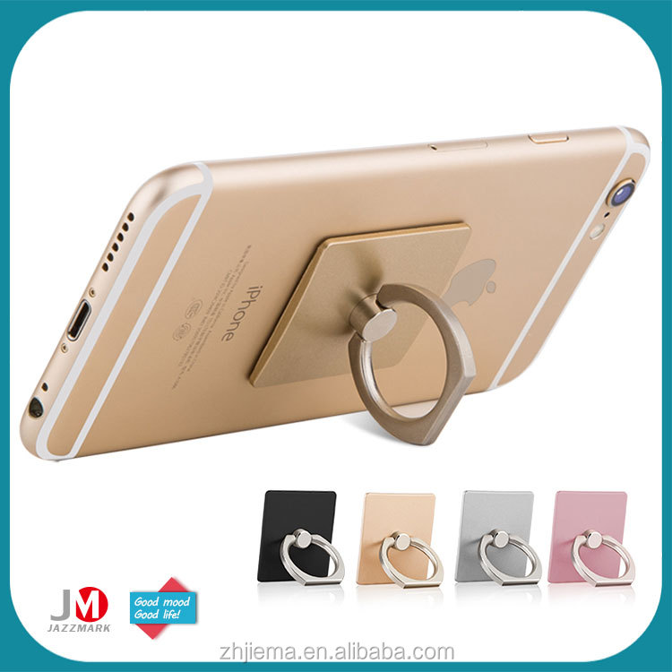 Cell Phone Accessories Unique Metal Phone Ring Holder Buckle Stand Grip Hook Mount Stander for Apple Iphone 6 6s 7 plus