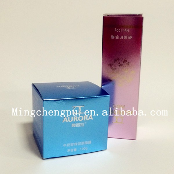 Custom beauty design cardboard packaging 10ml bottle box for cosmetic