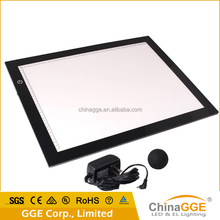 Slim light box table for drawing, tracing and tattoo art animation A2