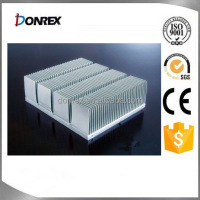 Square Industrial aluminum heat sink profile/ radiator