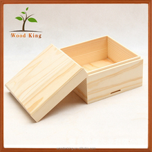 Wholesale Productshot Best Selling Flip Solid Wood Log Tea Packaging Custom Gift Handmade Box