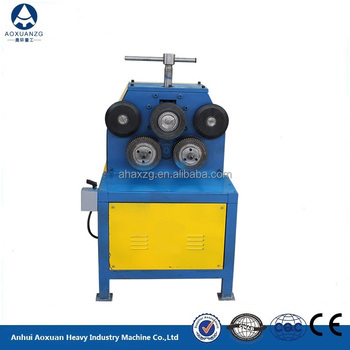 Durable automatic angle steel rolling machine, angle steel bending machine, angle steel roller