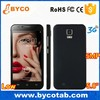 brand mobile phone Android 4.2 mobile phone 5.0' touch screen 2G 3G dual core camera 2.0MP+5.0MP