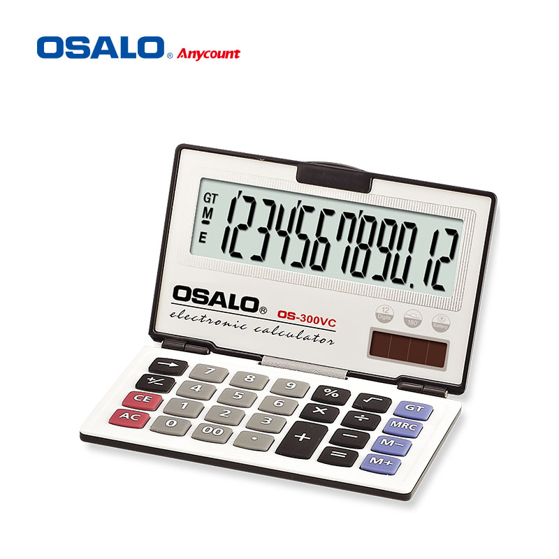osalo os-300vc folding style business calculators