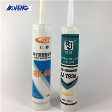 Hot sale high quality structural rtv acetic silicone sealant strong
