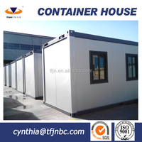 China Modern container prefab house used as office accommodation
