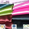 100%polyester dyeing printing coating satin fabric