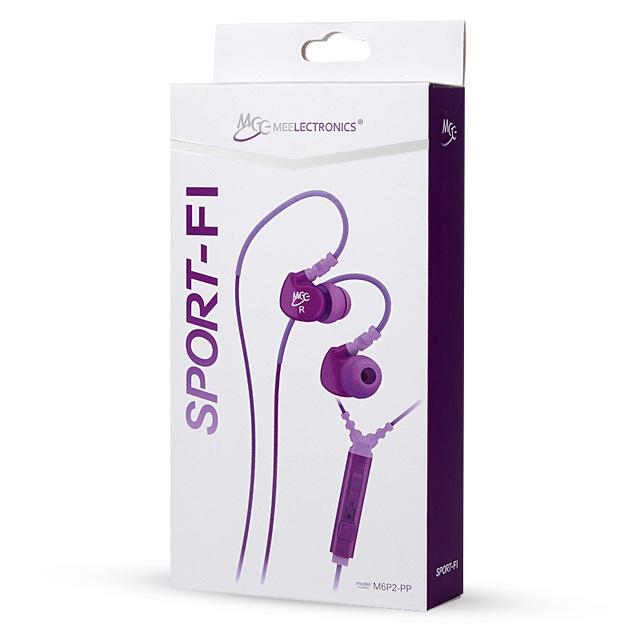 MEElectronics M6P Sport-FI Mini Earbuds earphones Wired Professional In Ear Sport Detach Earphone With Mic Stereo Bass Headset