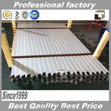 Silver or black 6063 aluminum alloy extrusion frames for solar panel
