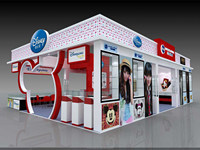 Good quality Good price display exhibition stand !!