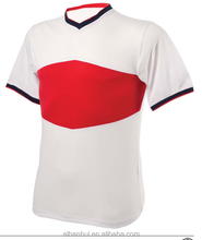 Promotional soccer jersey mens t shirts quality jersey football shirt maker men clothing