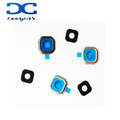 Back Rear Camera Real Glass Lens Holder Frame Ring Cover For A7 A700
