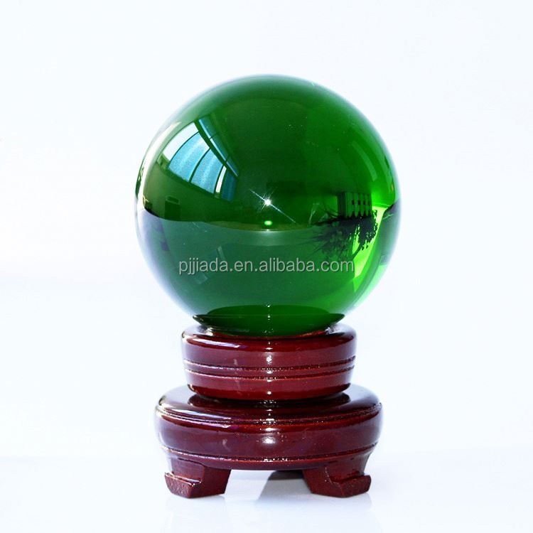 New product custom design clear rutilated quartz crystal ball manufacturer sale