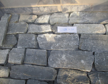 Blue quartzite strip stone
