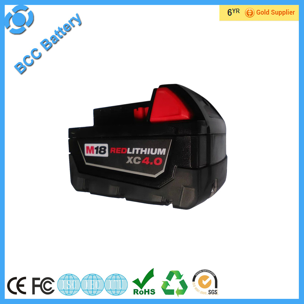 High power rechargeable cordless power tools battery replacement cell batteries for milwaukee