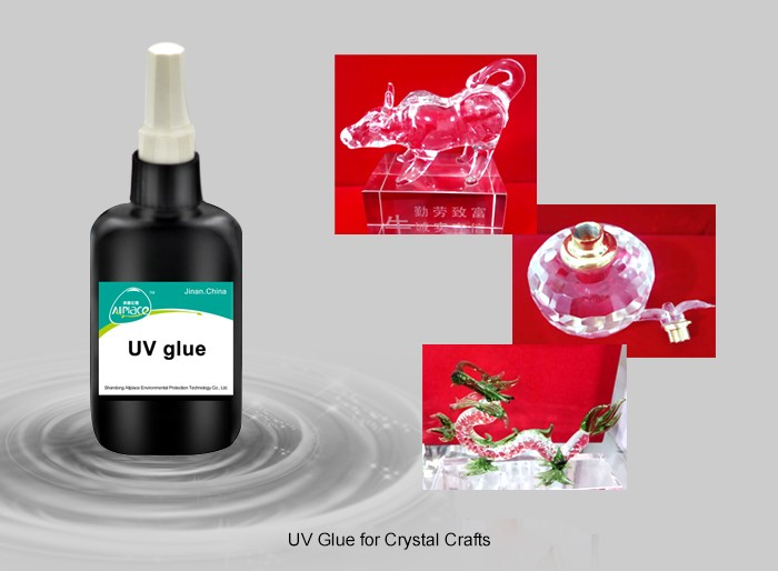 UV curing glass table uv glue adhesive for glass and metal