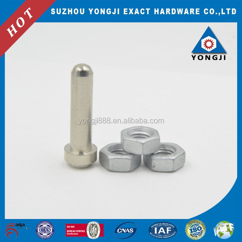Precision Hardware Pin Turning Parts Hex Nut