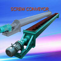 Screw Conveyor For Powder Material Transportation