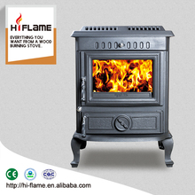 Home cast iron portable wood stove style pretty wood burning stoves with high quality HF446