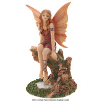 Fairy on Tree Over Pool Lisa Parker fairy/resin fairy/nice fairy