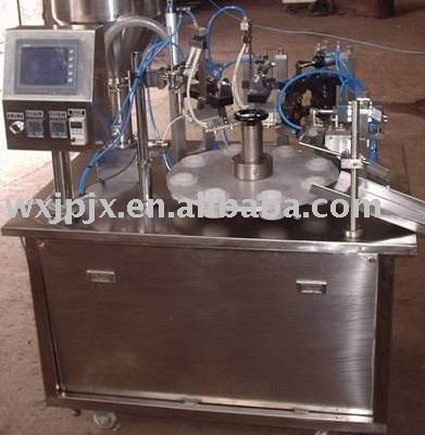 KDGF-25B laminated tube filling & sealing machine, aluminium plastic tube filling and sealing machine