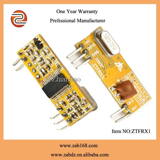 ZTFRX1 433/868MHz high sensibility ASK /FSK wireless Receiver Module TTL output level