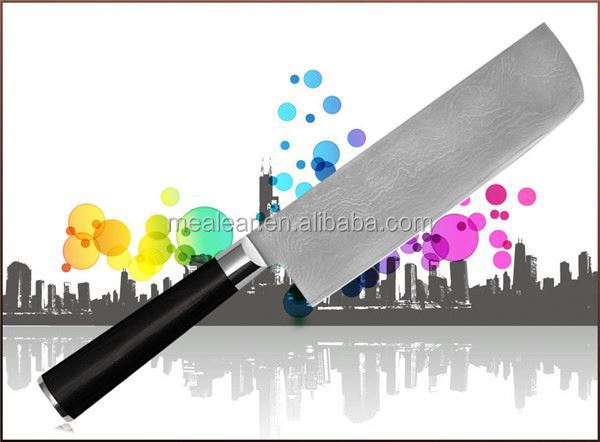 new product 4116 stainles steel nakiri knife