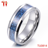 2016 Starry Night Sky Ring Tungsten Carbide Smart Shiny Engagement Ring Jewelry