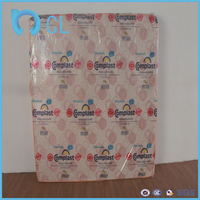 soft plastic pvc printed printing PVC mattress protective film of pool mattress
