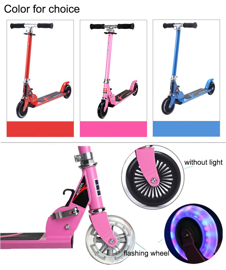 kids two wheel kick scooter for sale to Europe Market