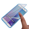 flip cover case for samsung note 6 note 7 case with Transparent touch mirror cover screen mobile phone case for samsung note6