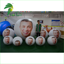 2016 Hot Sale Inflatable Advertising Balloon With Custom Printed , Cheap Inflatable Helium Balloon For Advertising