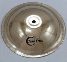 "100%handmade 10""(inch)bell cymbals kids cymbal from china tongxiang musical instrument"