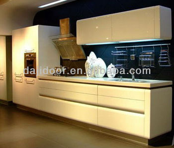 Lacquer High Gloss Modern Kitchen Cabinet DJ-K204