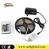 Multi-function rgb IP65 DC12V LED Flexible SMD 2835 strip light 60leds/m with CE,ROHS