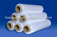 Transparent plastic LLDPE stretch film for industrial manual/ machine usage