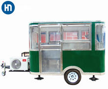 Factory price customized high quality mobile hot dog cart trailer for sale with CE ISO