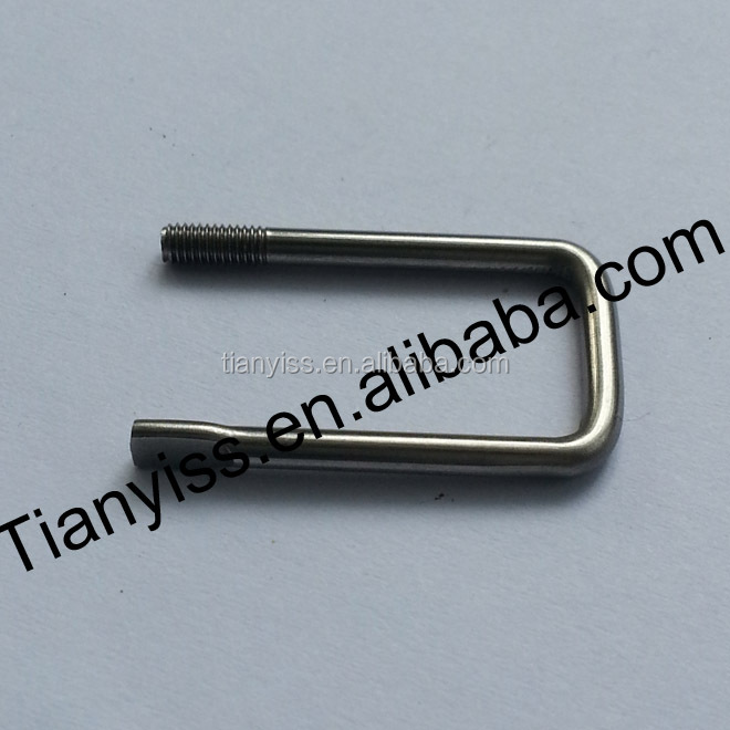 xinghua stainless steel u shape bolts square for hot sale