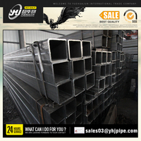 hot rolled square welded carbon steel pipe/tube price list