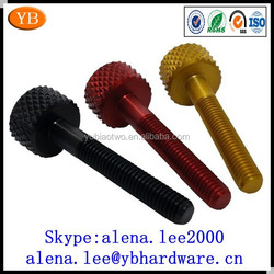 Custom knurled wine aluminum bottle screw cap,aluminum lead screw ISO9001 Passed