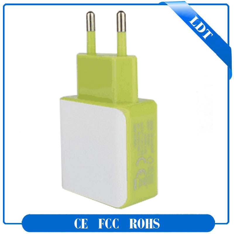 mobile phone accessories Universal Dual USB Travel Adapter