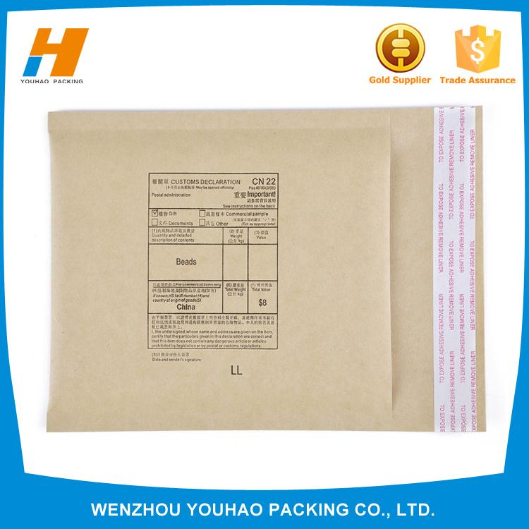 nontoxic colored padded envelopes with different size
