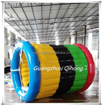 Brilliant quality China factory floating inflatable water running, giant inflatable wheel water toys for sale