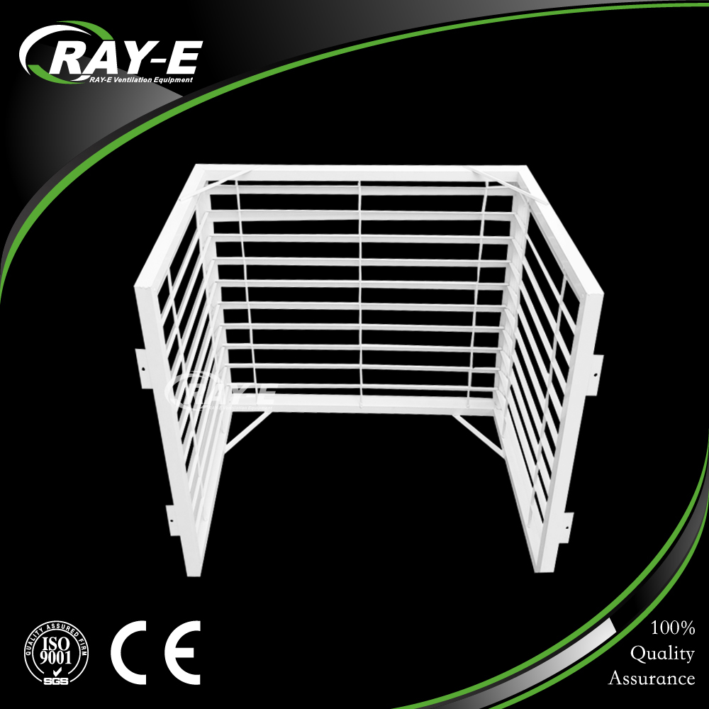 guangzhou waterproof louver vent custom made protection outdoor air conditioner cover