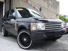 2004 used cars Land Rover Range Rover 35K mi w/Black Rims~1 OWNER~ACCIDENT FREE~